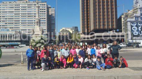 Participantes del Diviértete en Semana Santa de excurisón a Madrid