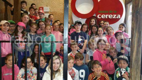 Participantes del Diviértete en Semana Santa en el Jerte
