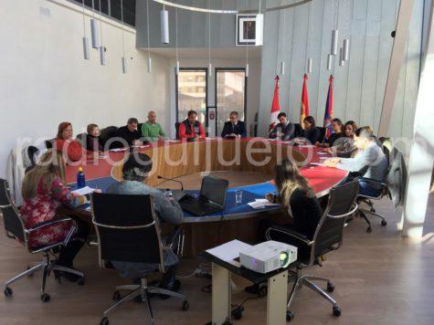 Sesión plenaria en el Ayuntamiento de Guijuelo. Foto: Archivo.