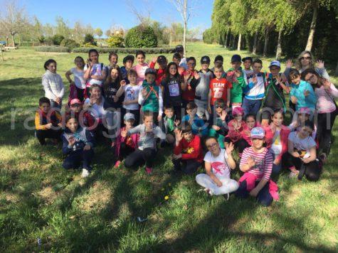 Participantes del Diviértete en Semana Santa en La Dehesa