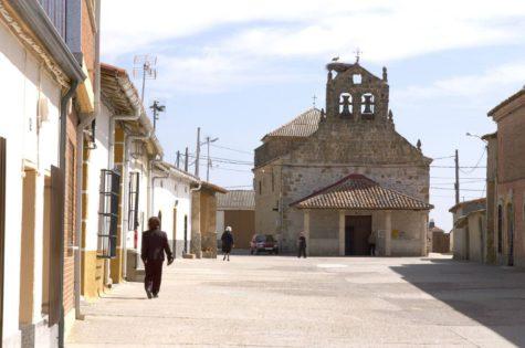 Un pueblo de Castilla y León. Foto Norte de Castilla