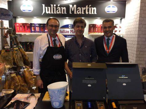 Julián Martín en el Salón Gourmets. Foto Julián Martín