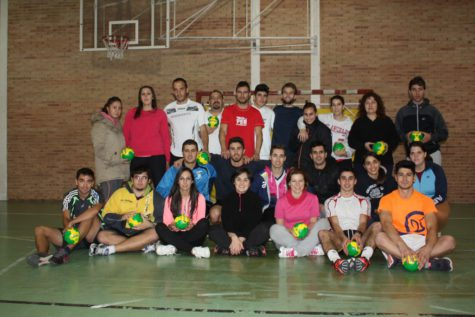 Participantes del curso de técnico deportivo municipal. Foto Diputación