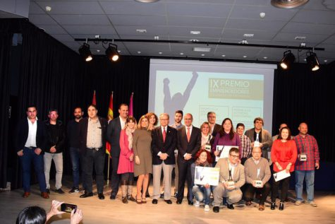 Premios emprendedores de Diputación de Salamanca. Foto Diputación
