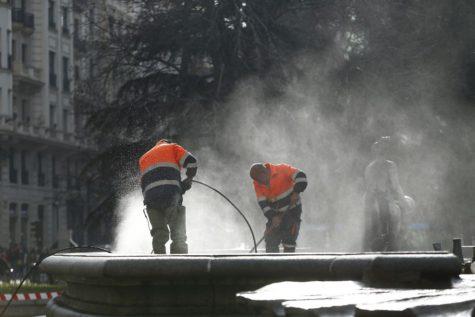 Trabajadores. Foto lainformación.com