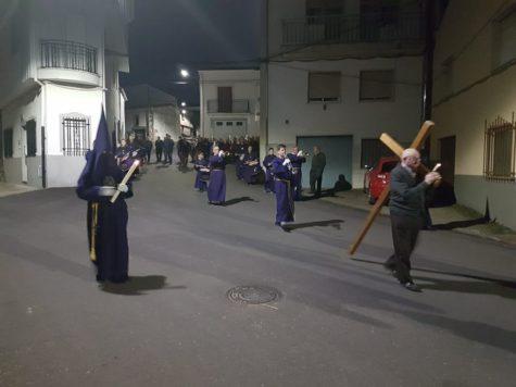 Procesión en Ledrada. Foto Ayto. Ledrada
