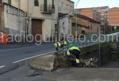Trabajadores en Guijuelo