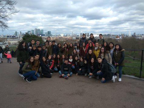 Alumnos de 4º de la ESO del IES Vía de la Plata en una actividad en Inglaterra
