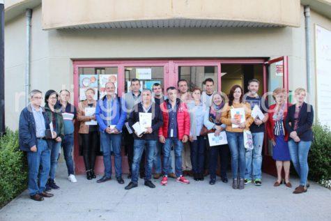 Entrega de medallas a los donantes de Guijuelo