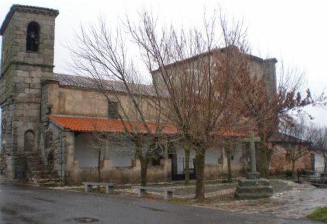 Iglesia de Guijo de Ávila. Foto andayasalamanca