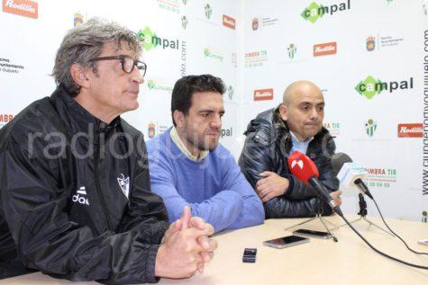 Jordi Fabregat, Jorge Hernández y Chema Aragón