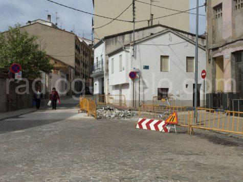 Obras en la plaza del Altozano