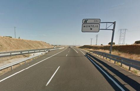 Salida 380 en la A-66. Foto Google Maps