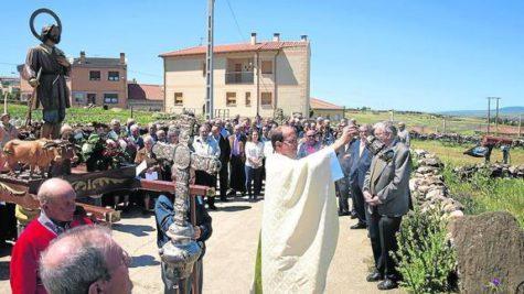Fiesta de San Isidro en Cespedosa. Foto Norte de Castilla