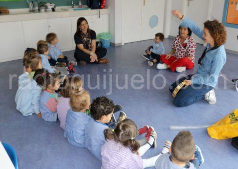 Sesión del programa Emociona-te en la Escuela Infantil de Guijuelo