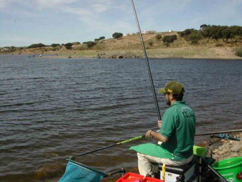 Un pescador. Foto hobbi deportes