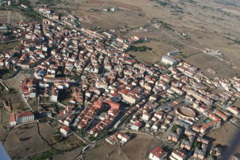 Vista aérea de Guijuelo. Foto ayuntamientos de España