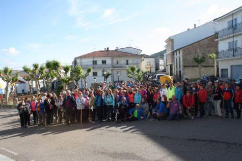 VI marcha Valle del Sangusín. Foto Ayto. Ledrada