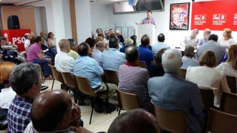 Congreso provincial extraordinario del PSOE de Salamanca. Foto PSOE Salamanca