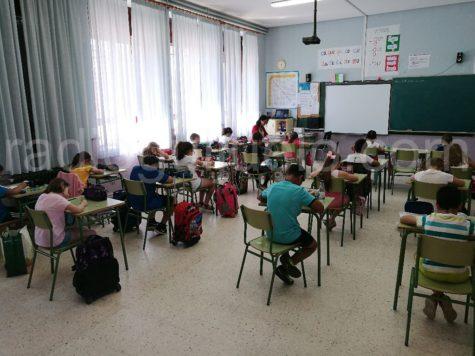 Alumnos de 3º de Primaria del Filiberto Villalobos