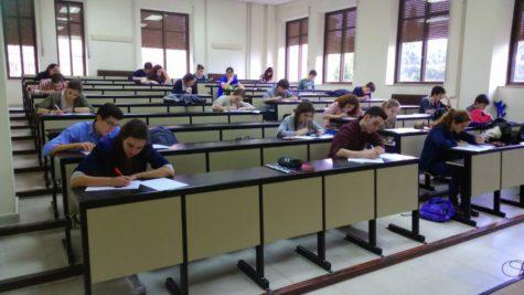 Alumnos de la Universidad de Salamanca. Foto USAL