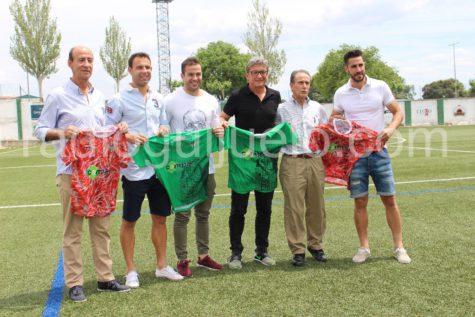 Cuerpo técnico del C.D. Guijuelo para la temporada 2017-2018