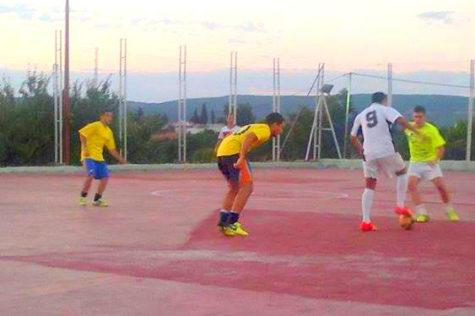 Un partido de fútbol sala. Foto archivo