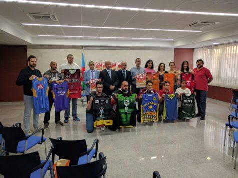 Presentación de la Final Four del Trofeo Diputación