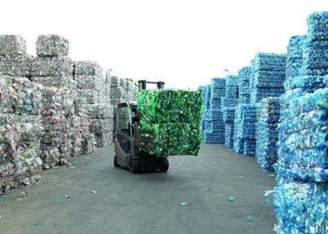 Planta de reciclaje de plástico. Foto plástico.com