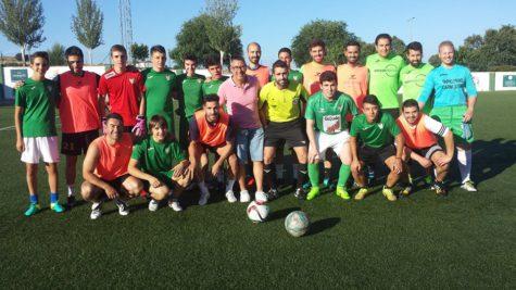 Participantes en el campeonato de verano de fútbol 7