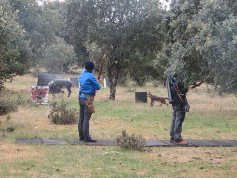Competición de tiro con arco en Los Molones