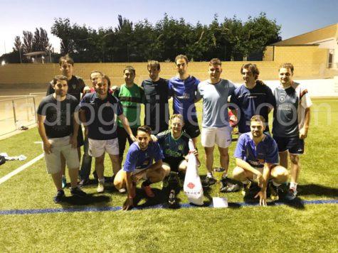 Catuysa campeón del campeonato de verano de fútbol 7