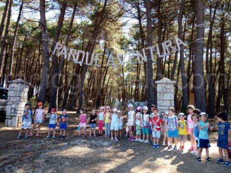Niños y niñas de la Ludoteca en San Miguel de Valero.