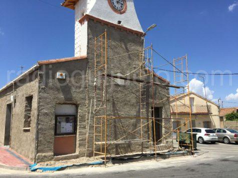 Obras en el edificio del Ayuntamiento de Guijuelo