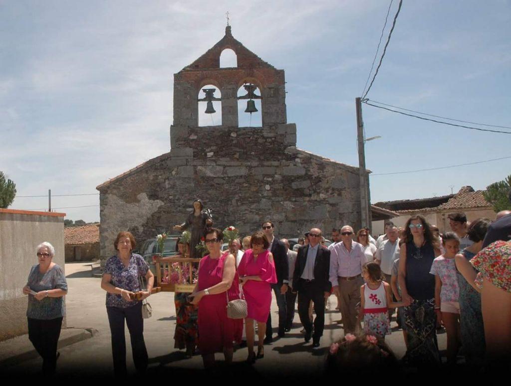 Fiestas en Palacios en honor a Mª Magdalena. Foto: Archivo.