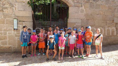 Participantes de las Semicolonias en Ledesma