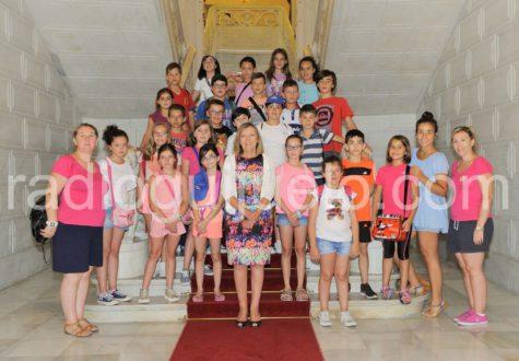 Los niños de la semicolonias en Salamanca