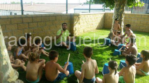 Una actividad en la Ludopiscina. Foto: Archivo.