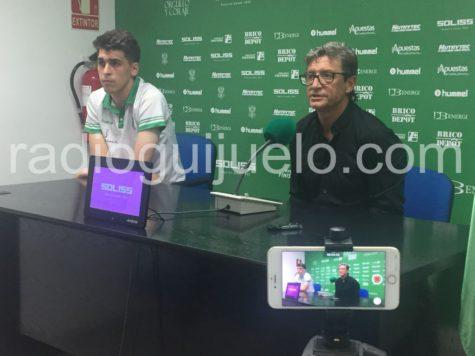 Jordi Fabregat durante la rueda de prensa en el Salto del Caballo.