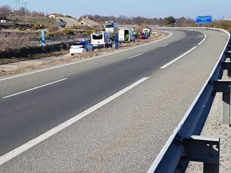 Accidente en Nava de Béjar. Foto lagaceta.es