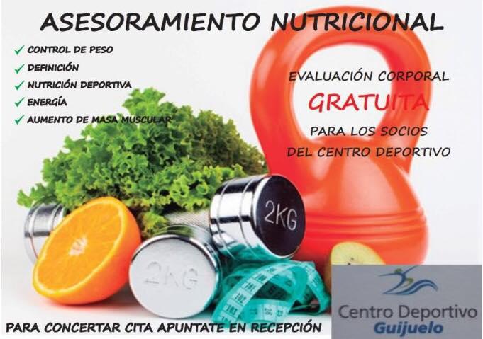 El Centro Deportivo ofrece asesoramiento nutricional – Radio ...