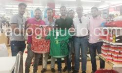 Presentación del cuerpo técnico del CD Guijuelo.