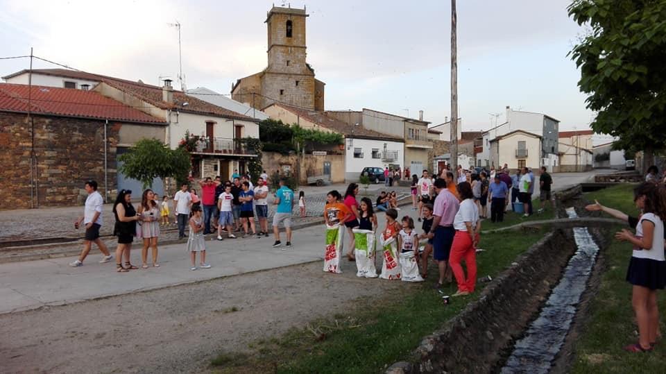 Fiestas patronales de Endrinal. Foto: Endrinal.
