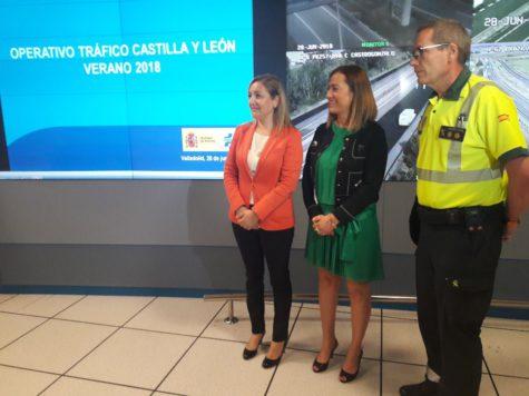 Operación salida de verano. Foto: DGT Castilla y León.