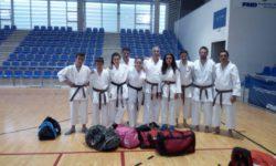 Grupo de karate. Foto: CD La Luna.