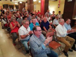 Público asistente a la presentación de la Feria Taurina. Foto: Archivo.