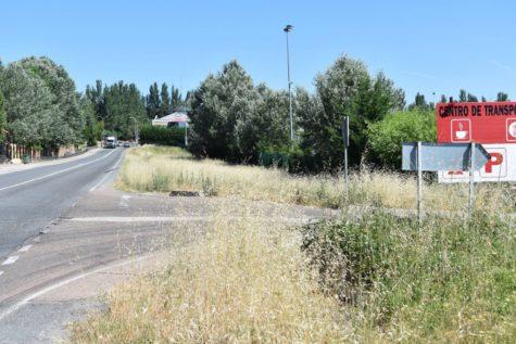 Entrada sur de Guijuelo