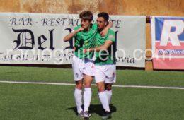 Luque y Javi Borrego. Foto: Archivo.