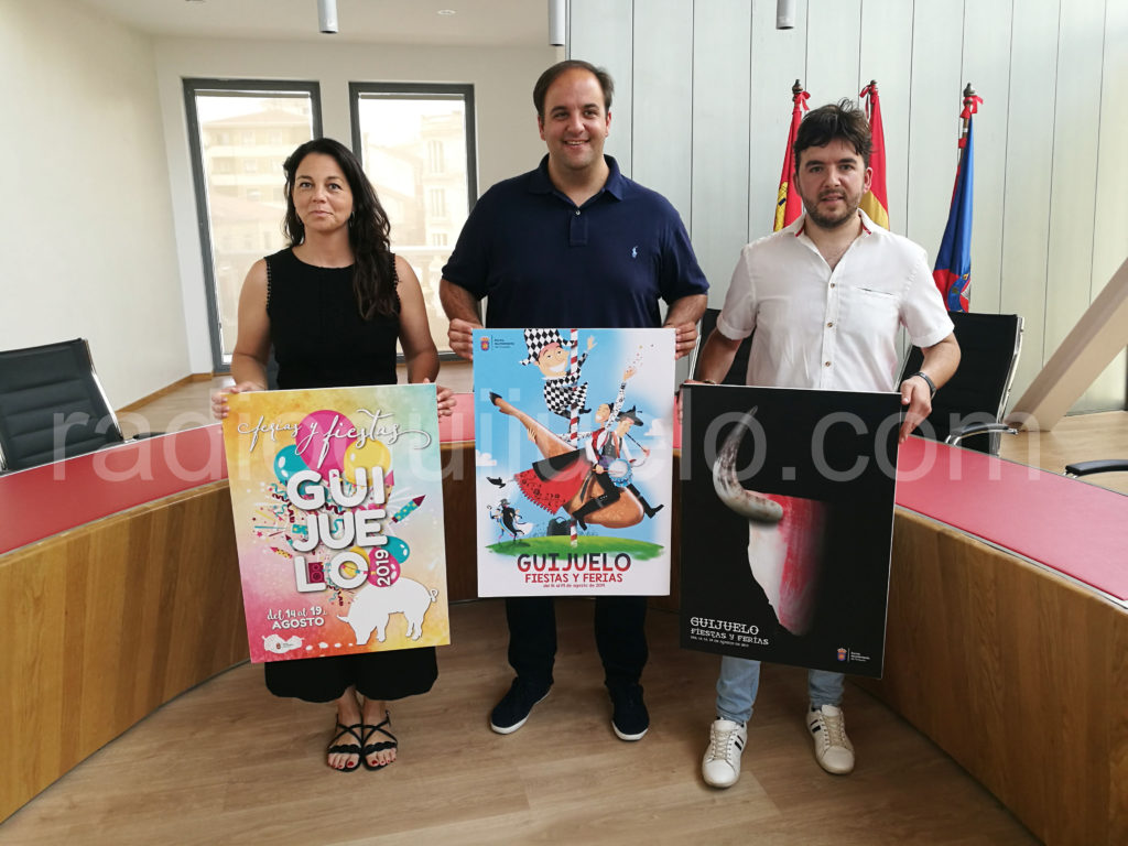 Carteles ganadores del Concurso de Fiestas 2019.