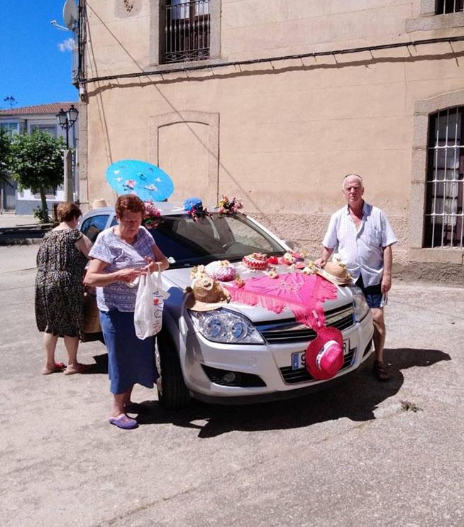 Coche participante en el concurso. Foto José Manuel Voces.